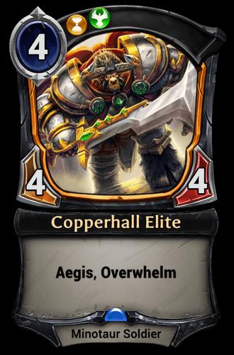 Copperhall Elite card