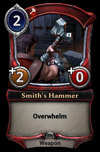 Smith's Hammer card