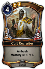 Cult Recruiter