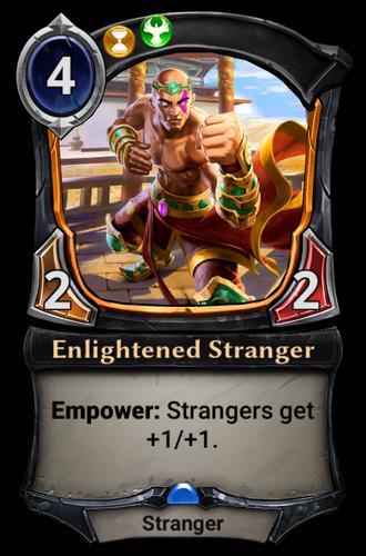 Enlightened Stranger card