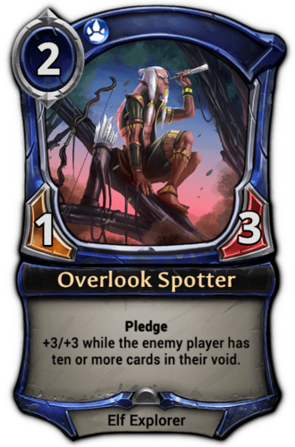 Overlook Spotter card