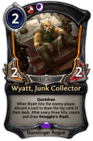 Wyatt, Junk Collector