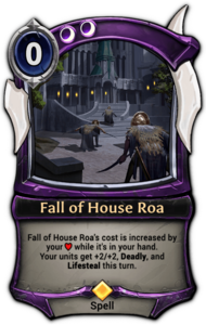 Fall of House Roa