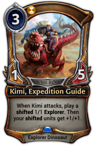 Kimi, Expedition Guide card