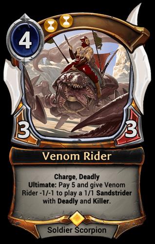 Venom Rider card