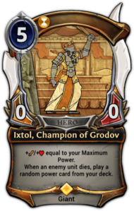 Ixtol, Champion of Grodov