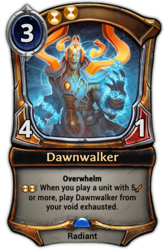 Dawnwalker card