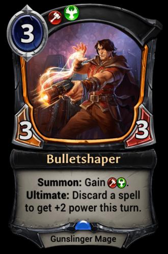 Bulletshaper card