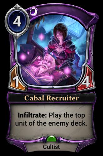 Cabal Recruiter card