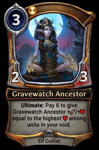 Gravewatch Ancestor card
