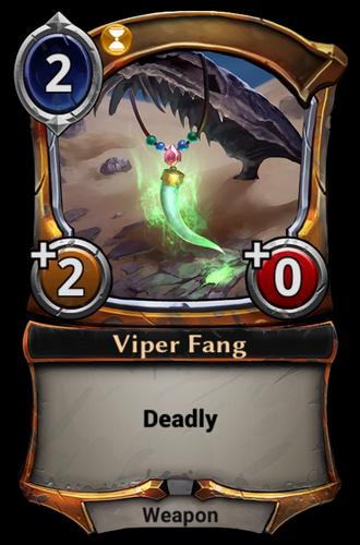 Viper Fang card