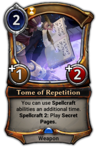 Tome of Repetition