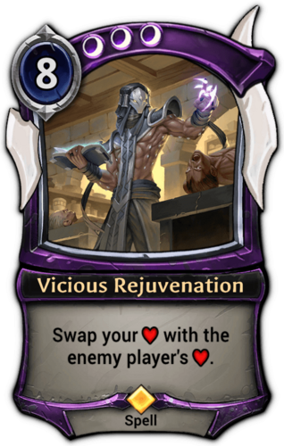 Vicious Rejuvenation card