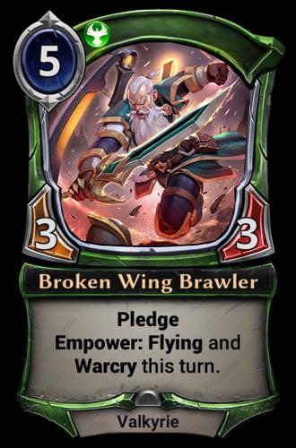 Broken Wing Brawler card