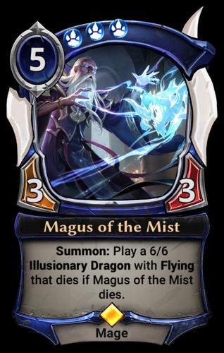 Magus of the Mist card