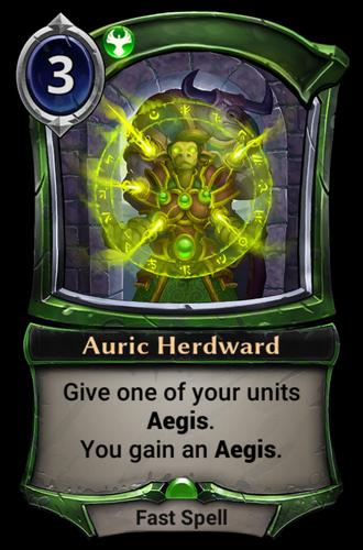Auric Herdward card