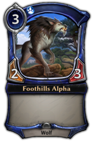 Patch 1.35 version of Foothills Alpha.