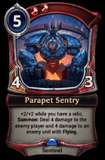 Parapet Sentry