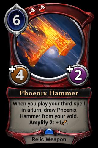 Phoenix Hammer card