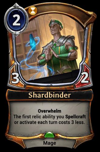 Shardbinder card