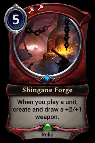 Shingane Forge card