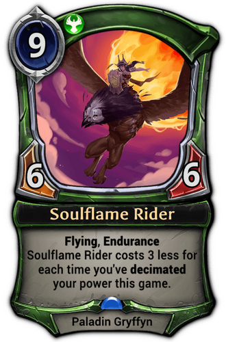Soulflame Rider card