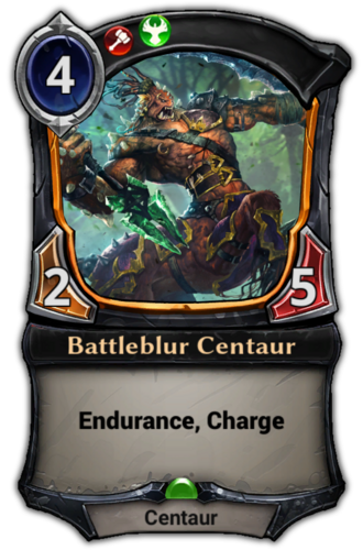 Battleblur Centaur card