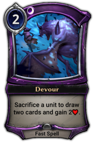 Devour card