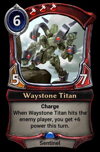 Waystone Titan card