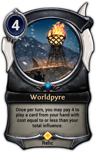 Worldpyre card