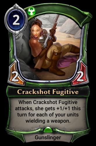 Crackshot Fugitive card