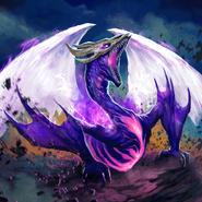 Full Art - Skyfire Hellkite