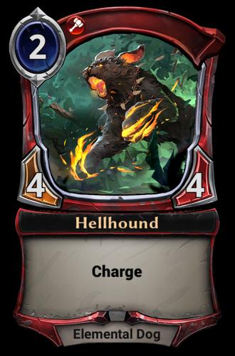 Hellhound card