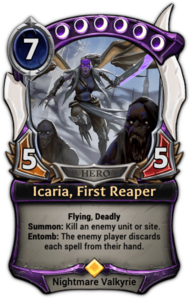 Icaria, First Reaper