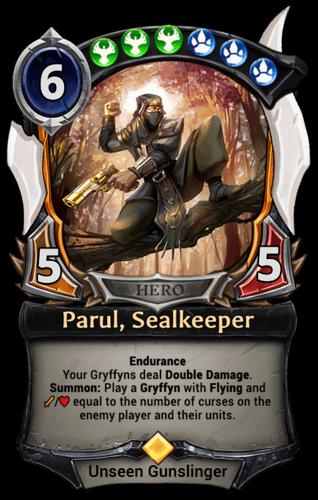 Parul, Sealkeeper card