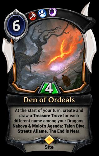 Den of Ordeals card