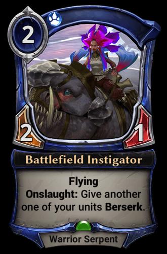 Battlefield Instigator card