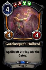 Gatekeeper's Halberd