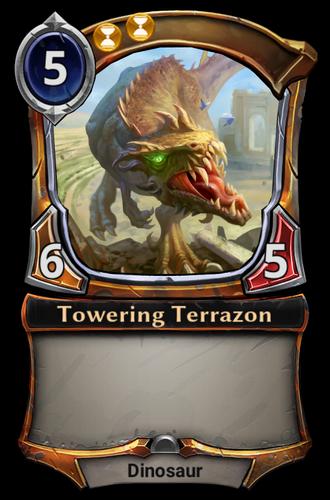 Towering Terrazon card