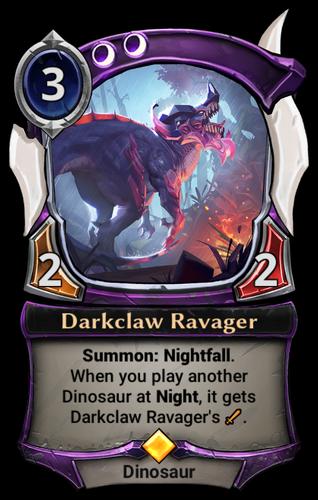 Darkclaw Ravager card