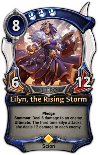 Eilyn, the Rising Storm card