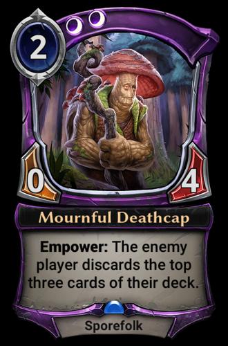 Mournful Deathcap card