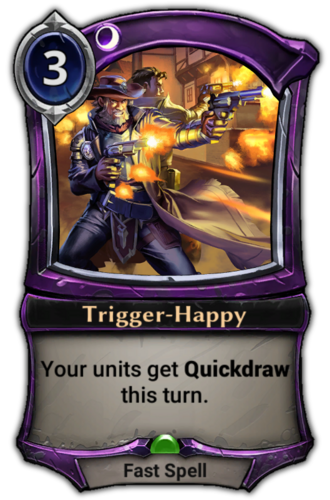 Trigger-Happy card
