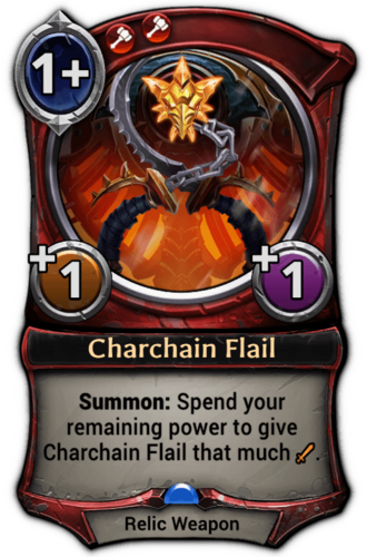 Charchain Flail card