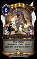 Thundering Kerasaur