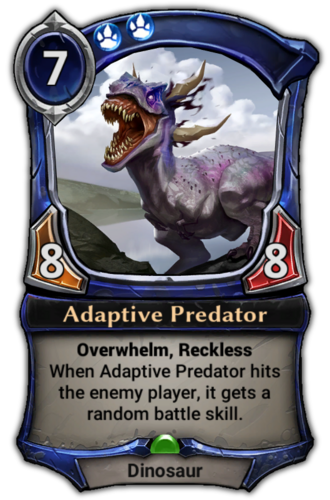 Adaptive Predator card