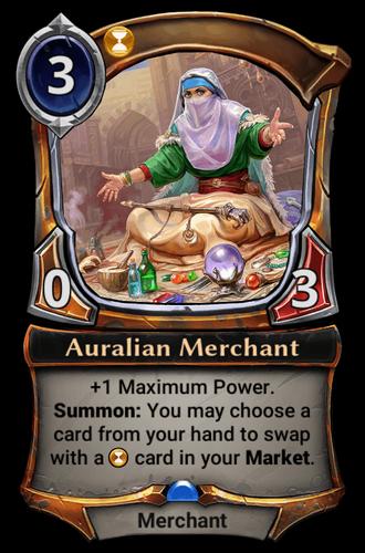 Auralian Merchant card