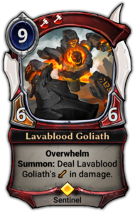 Lavablood Goliath