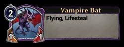 Vampire Bat Token