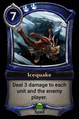 Icequake card